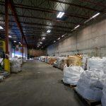 Inside of EnviroLeach warehouse