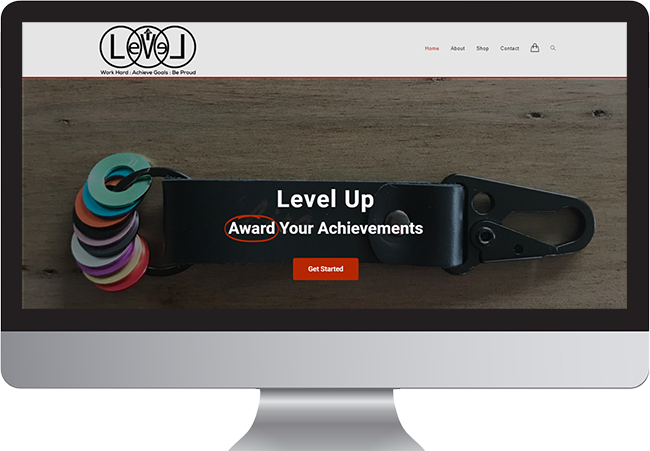 Level Up Website