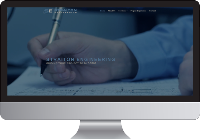 Straiton Engineering website