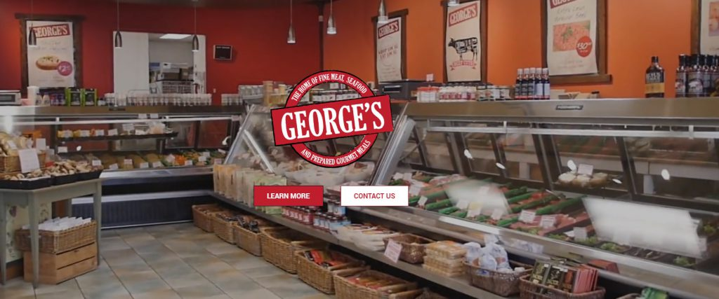 George's Gourmet is the best place in Langley for meats, seafood and gourmet prepared meals.  Longhouse Media created the new George's Gourmet websiteand put together a cool cover video that plays at the front of their home page.  We love helping businesses create a great first impression by designing websites that are user friendly and websites that rank high on Google.