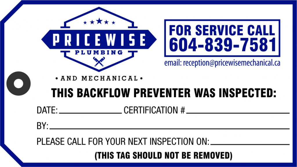 PriceWise Plumbing Graphic Design Service Example