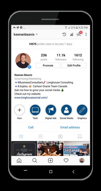 Keenan Beavis Instagram Profile